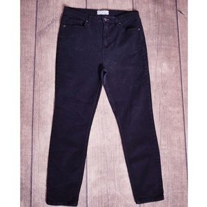 Free People Black Skinny Jeans Size 29